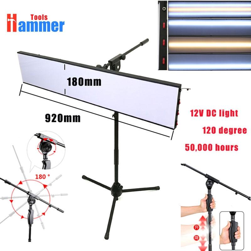 Paintless Dent Repair Tool Kit Lamp Reflective Borde 12v PDR KING lamp Board with adjustable bracket