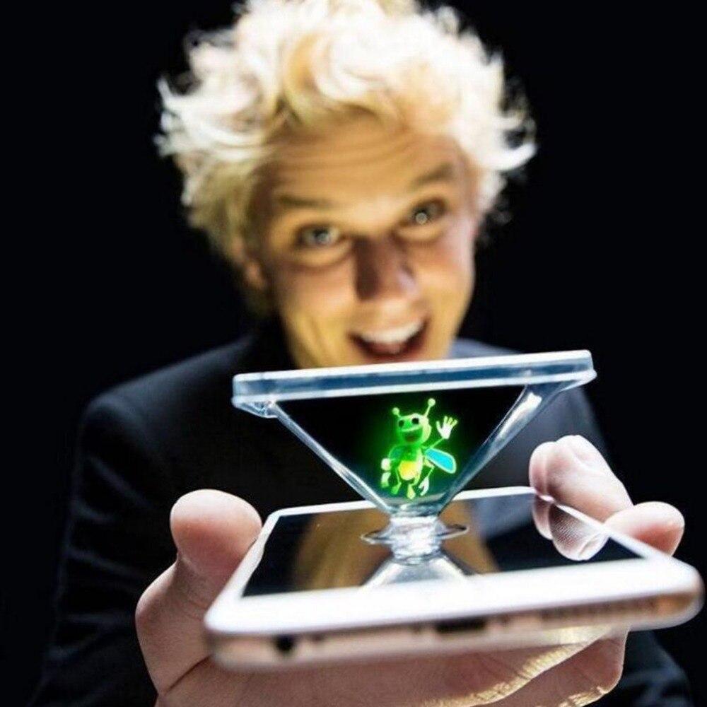 Novedades 3D Honeybee Projector Finger Magic Lamps Novelty Pokeball Luminaria de mesa Novidade Projection Toy for Kids Light
