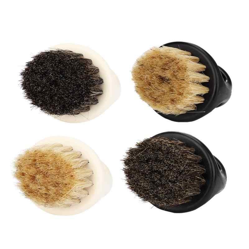 Дикая кабана мех Мужская щетка для бритья Парикмахерская для мужчин удаление бороды для лица приспособление для бритья Бритва кисть с ручкой для мужчин