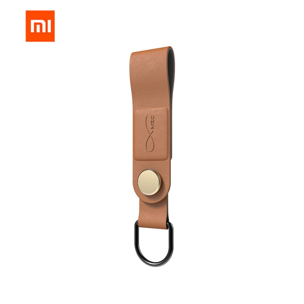 Xiaomi Mijia Bcase MEC Magnetic Earphone Clip Three Colors Leather Buckle Earphone Wire Organizer Holder Portable Cable
