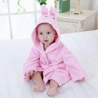 100% algodón bebé Toalla de baño infantil baño manta recién nacido bebé dormir suave animal de dibujos animados forma dormir robe