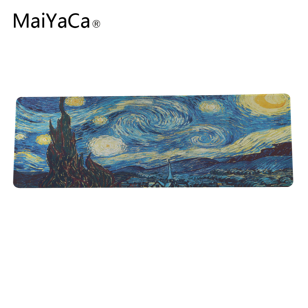free shipping thick creative personality art cute large size mouse pad large gaming mouse pad to play the game Lover 30x90cm