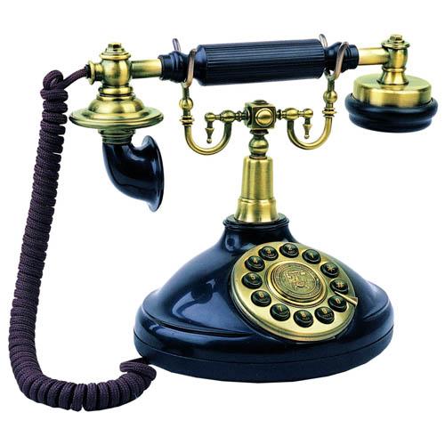 Fashion antique telephone antique 1920 telephone  girl