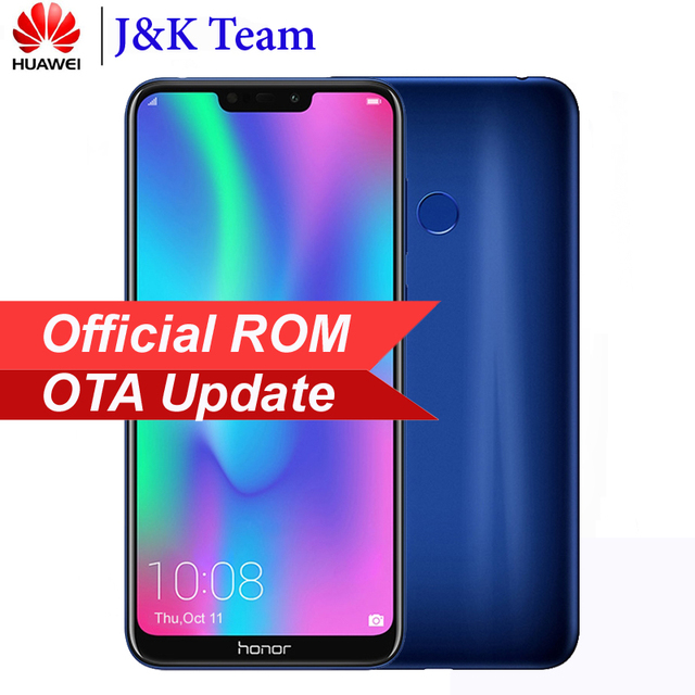 Huawei Honor 8C 4000mAh Battery Smartphone 6.26 inch Snapdragon 632 Octa Core Dual SIM MobilePhone Android 8.2 OTA Update