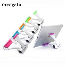 Universal Tablet PC Holder Foldable Adjustable Angle 150 degree rotation Desk Phone Holder