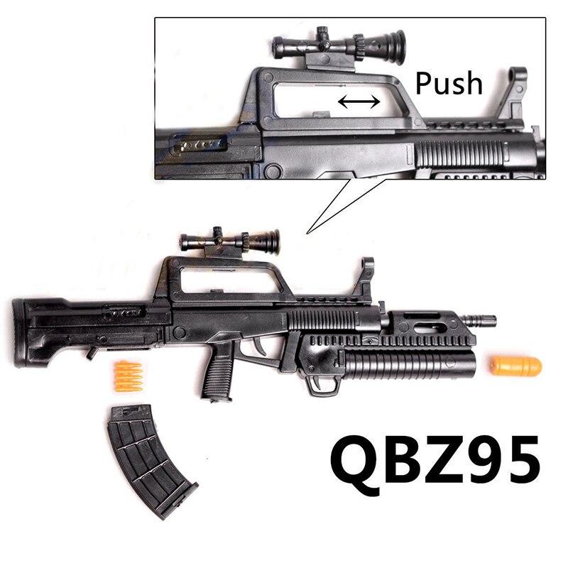 """1//6 1:6 12/"""" Action Figure Gatling M134 Machine Gun AK74 Assembly Model"""