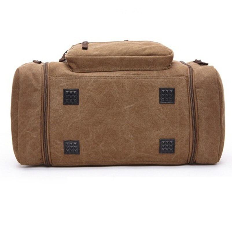 sacolas de viagem dos homens Color : Black, blue, brown, khaki