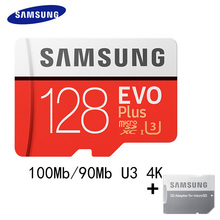 100%Original SAMSUNG Micro SD Card 32gb 64gb 128GB 16gb 8gb 100Mb/s Memory Card Class10 Flash TF Card for Phone PC Free Adapter(China)
