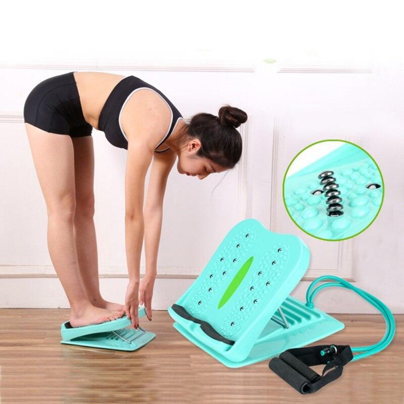 Massage Fitness pédale pliante tabouret pied Stretch debout côtes conseil équipement Stand-up jambe minceur civière résistance bandes