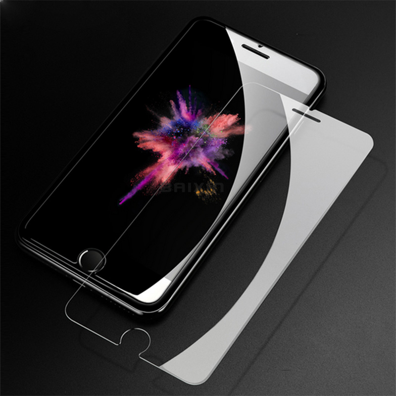 HTB1MKSdcLxNTKJjy0Fjq6x6yVXaA - 9H tempered glass For iphone XR XS X 8 4s 5s 5c SE 6 6s plus 7 plus screen protector protective guard film case cover+clean kits