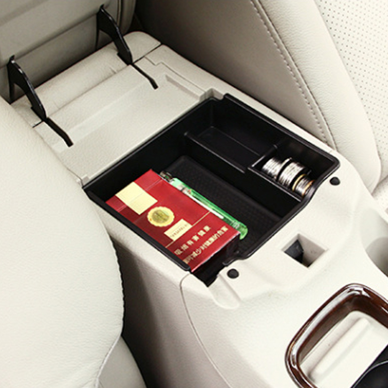 Organizer for Nissan Sentra Pulsar Sylphy 2012-2017 Central Armrest Storage Box Holder Container Tray Accessories Car Styling carburetor carb for nissan a12 cherry pulsar vanette truck datsun sunny b210 pulsar truck 16010 h1602 16010h1602 16010 h1602