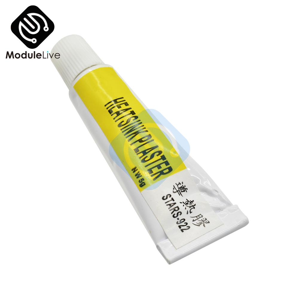 2pcs STARS-922 Heatsink Plaster Thermal Silicone Adhesive Cooling Paste Strong Adhesive Compound Glue For Heat Sink Sticky ST922