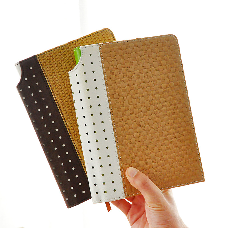 Cheng Jia Brand A5 School Notebook Stationery Retro Straw Hardcover Notes Diary planner travelers Gift Office Journals Notebooks cheng jia spiral notebook a5 retro leather journal daily planner notebooks writing pads office school travelers notebook binder