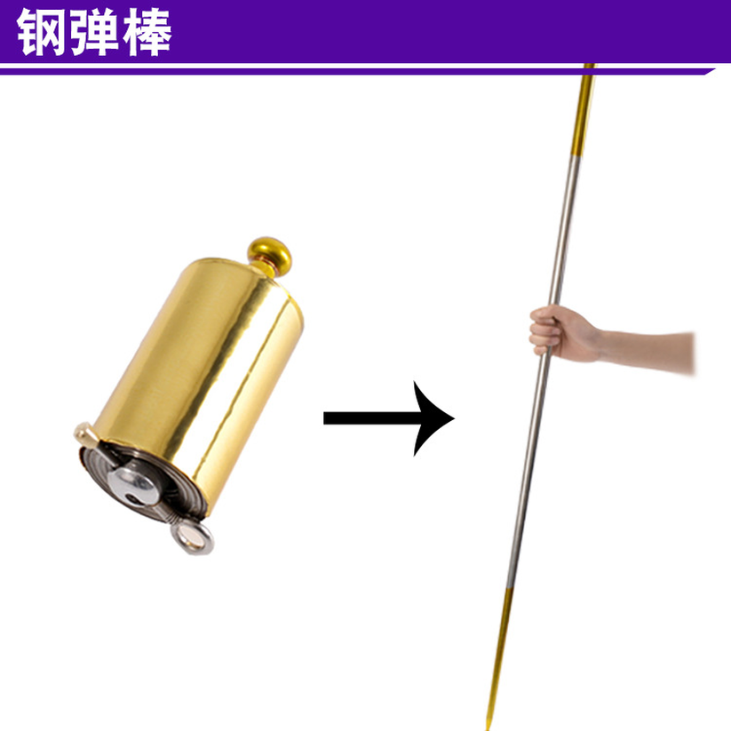 Staff Portable Martial Arts Metal Magic Pocket Bo Staff- New High Quality  Pocket Outdoor Sport Stainless Steel Silver Kung Fu