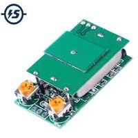 DC 5 V 5.8G 5.8 GHz Microonde Interruttore Del Sensore Radar Modulo ISM Banda di Rilevamento 12 m HFS-DC06 Nessuna Interferenza