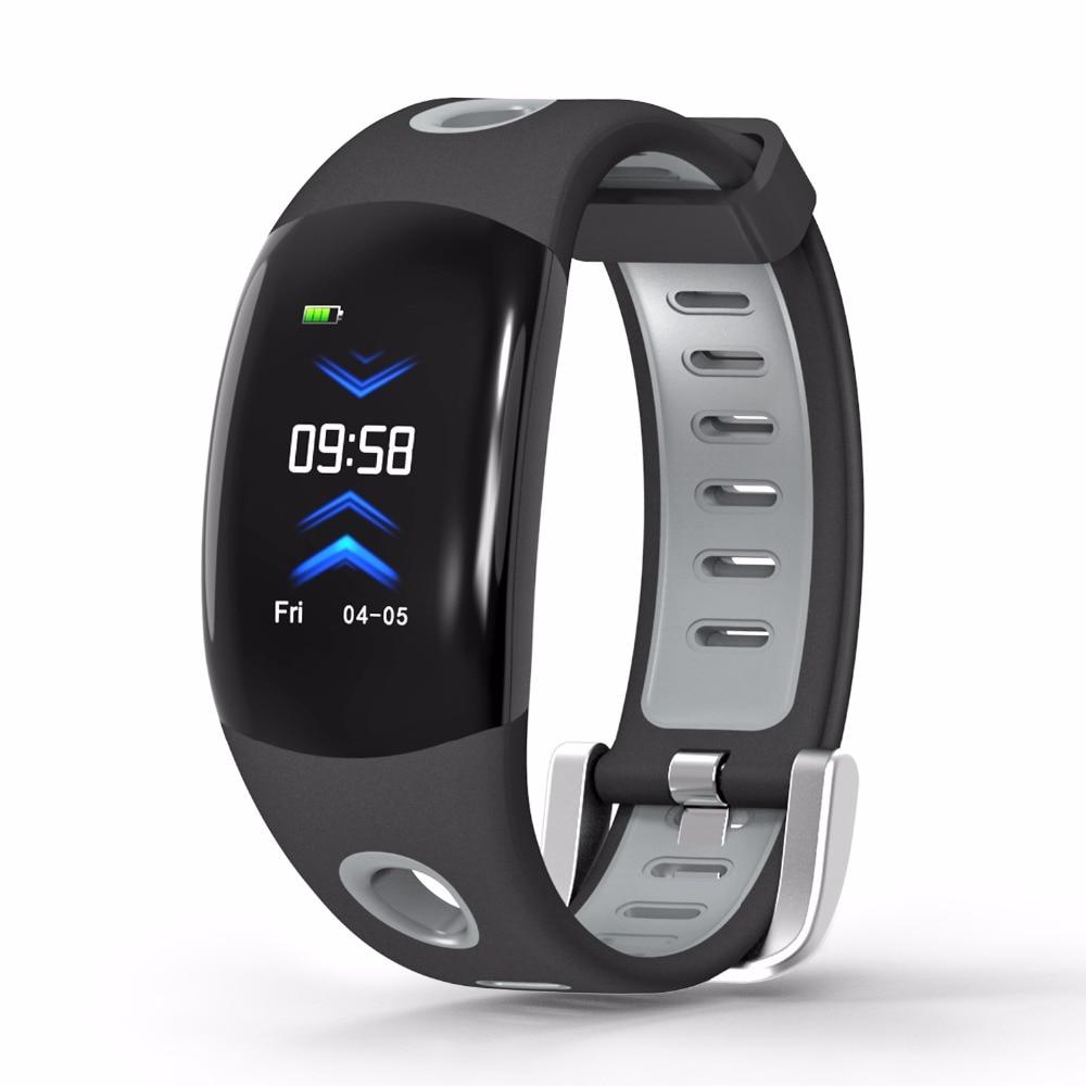TEZER DM11 3D UI Dinâmico de banda Inteligente Pulseira Heart rate Monitor de Fitness rastreador Pulseira IP68 À Prova D' Água