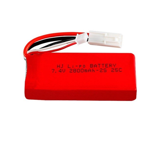 7.4V 1500mAh/<font><b>2800MAH</b></font> <font><b>Lipo</b></font> battery/USB charger For FT009 RC Boat speedboat 12428 battery <font><b>Lipo</b></font> <font><b>2S</b></font> 7.4 V 1500mah <font><b>2S</b></font> image