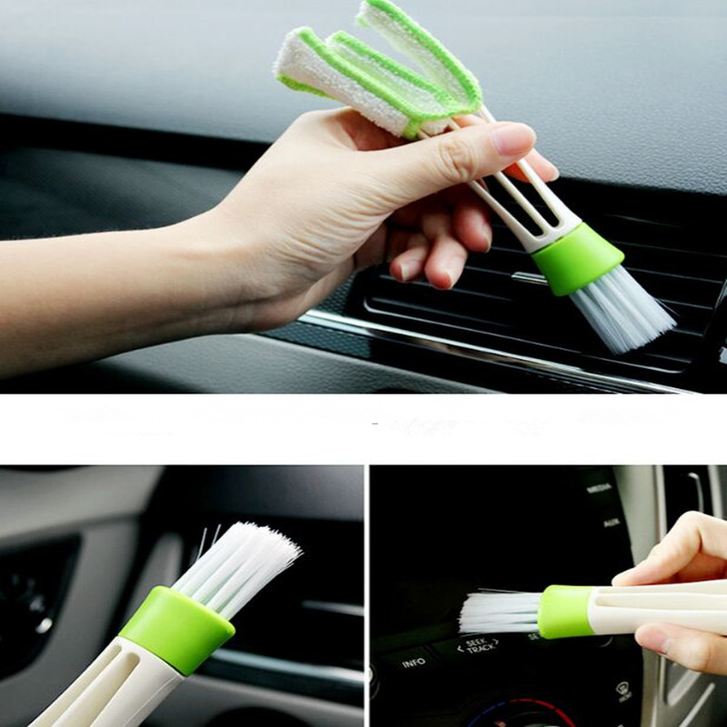1x Car Cleaning Brush For Renault Megane 2 3 Duster Logan Clio 4 3 Laguna 2 Sandero Scenic 2 Captur Fluence Kangoo Armrest renault megane coupe 1999