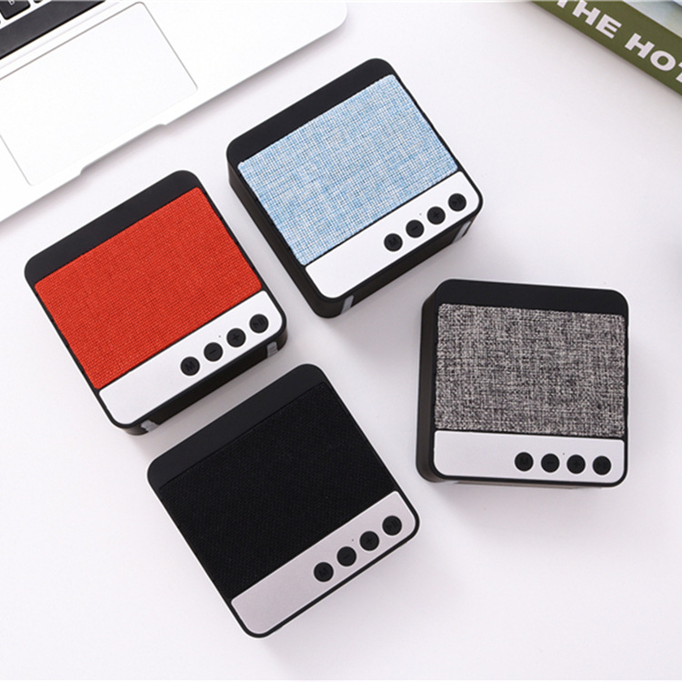 Portable Bluetooth Speaker Outdoor Fabric Mini portable speaker Stereo bluetooth computer wireless for laptop