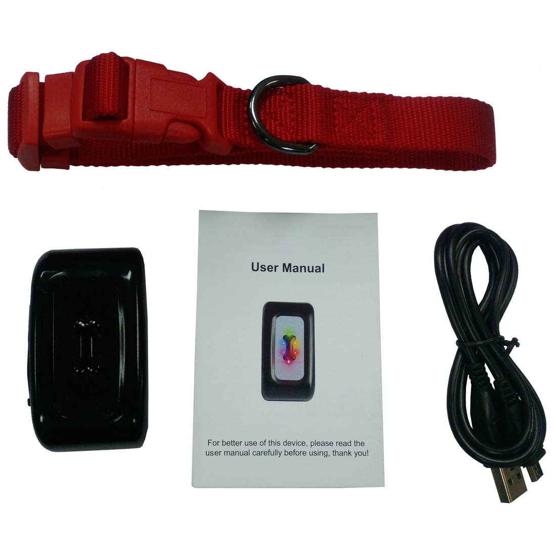 MOOL GPS locator intelligent pet dodge light precision 5 m pet gps locator Black store locator