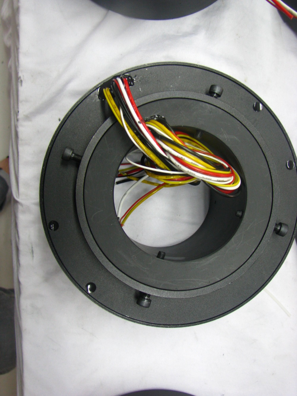 38.1mm inner hole Through Bore Slip ring Rotary Joint Collector Auto Parts Current Collector electrical rotary joint
