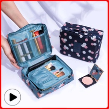 Makeup Bag Oxford Cloth Large Capacity Storage Bags Women Make Up for Cosmetic Brush