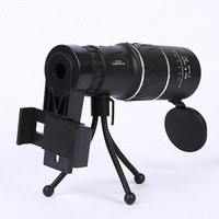 Nanoo 16X52 Great Handheld HD Monocular Telescope Light night vision Scope for Smartphone Camera Camping