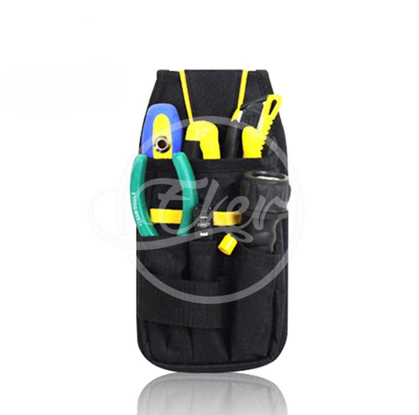 600D High Density Waterproof Oxford&PVC Car Wrap Tools Bag Multifunction Durable Hardware Mechanics Canvas Tool Bag