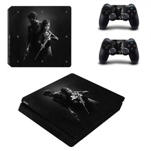 Game THE LAST OF US PS4 Slim Skin Sticker