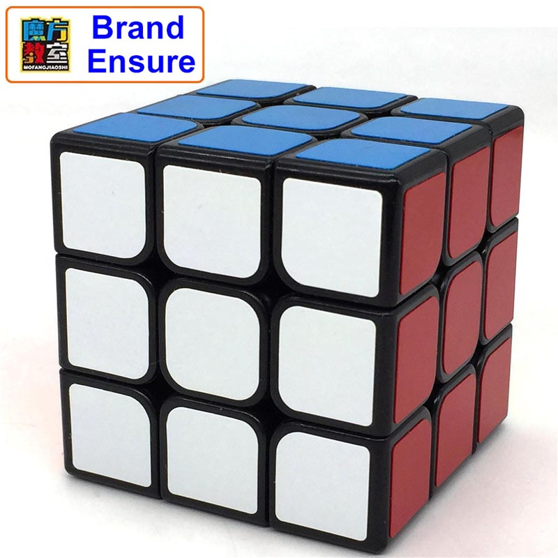 Brand Assurance MOYU Magic Cube 3x3x3 Sticker Block Speed Learning&Educational Puzzle Cubo Magico Cool Toys Magic Cube MF309