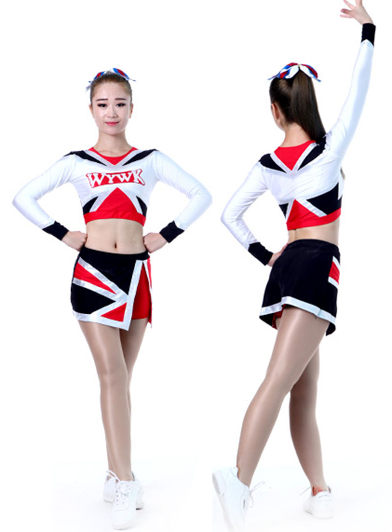 5Sets Cheerleader Uniform Professional Performance Outfit 100 Styles XS-6XL High Quality New
