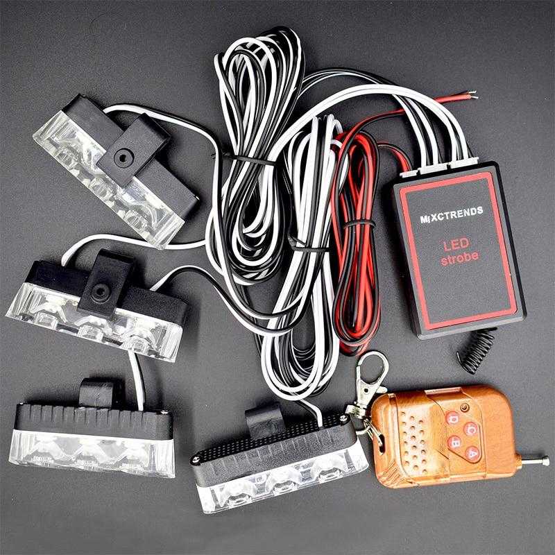 Безжично дистанционно светодиодна - Автомобилни светлини - Снимка 2