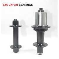 プレミアム EZO ベアリング DR601 20/24 穴 2:1 J-フック道路自転車ハブ黒 6 の爪 freehub ボディ ABG システム