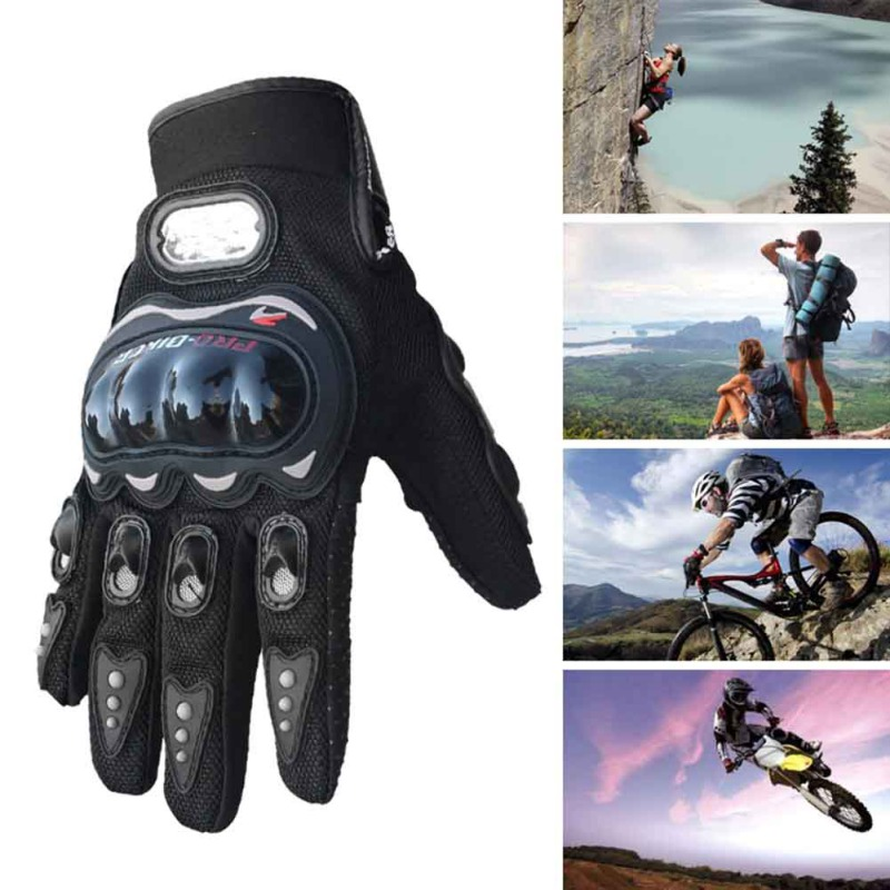 Handsome Motorcycle Gloves Full Finger Knight Riding Moto Motorcross Sports Glove Cycling Washable Glove Guantes New
