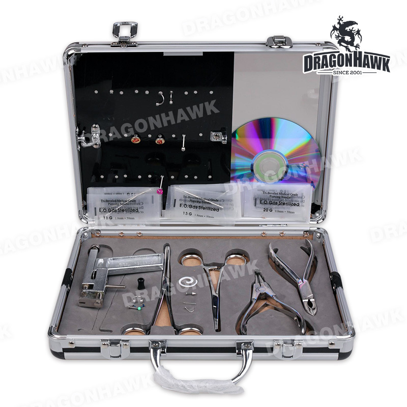 Top Quality Piercing Supplies Body tattoo Pierce Kit With Fashion Jewelry piercing corporate veil