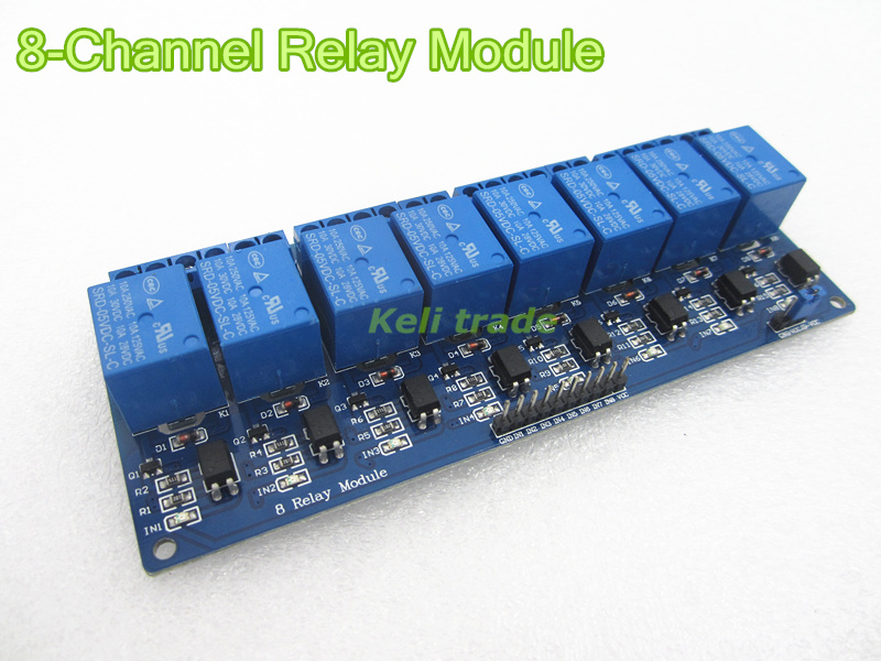 new 1PCS 5V 8-Channel Relay Module Board for Arduino PIC AVRs