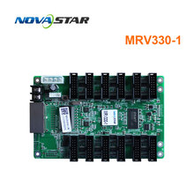 цена MRV330-1 MRV330Q MRV332 novastar receiving card for LED RGB full color led video display video wall screen онлайн в 2017 году