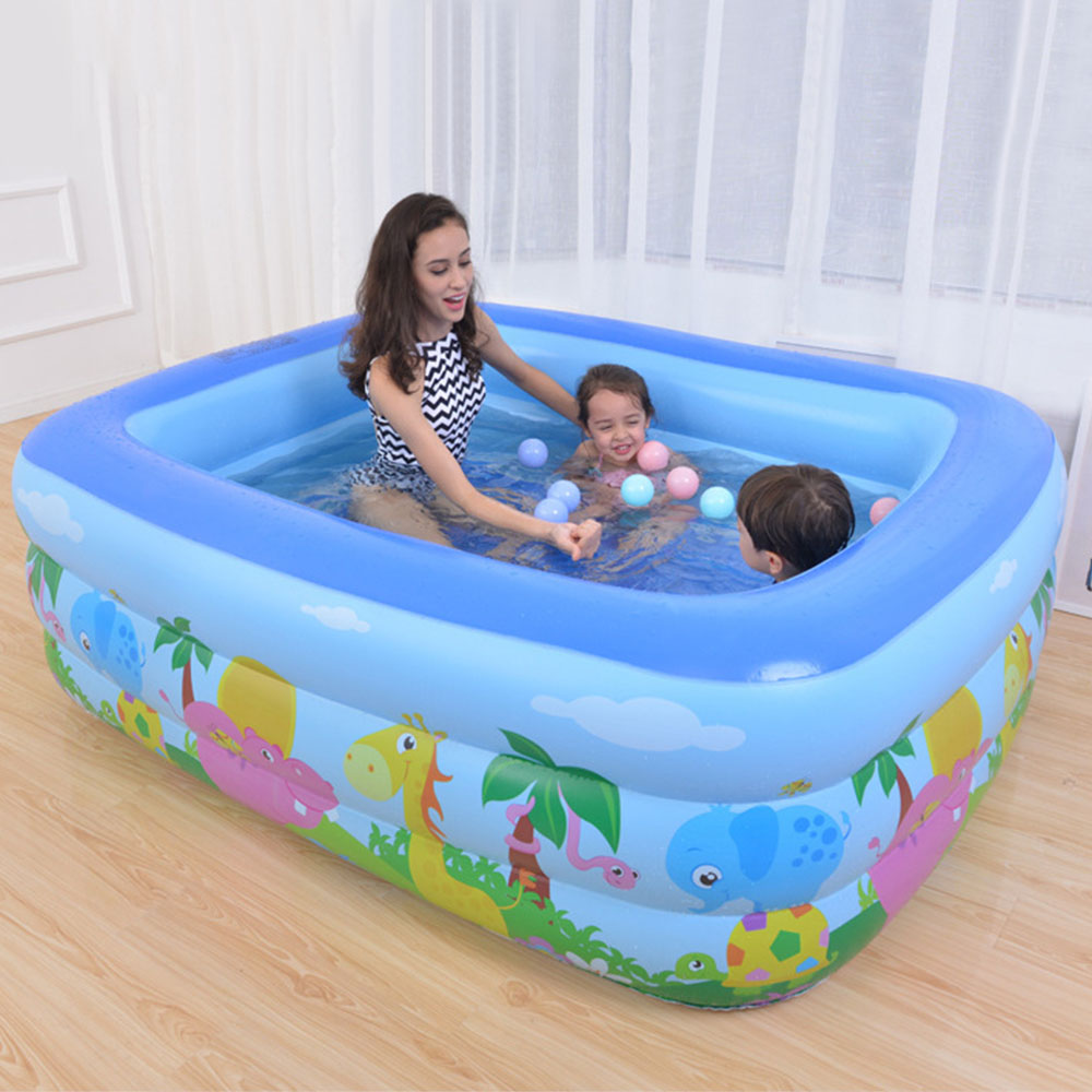 Baby Kids Children's Inflatable Swimming Pool Large Size Heat Preservation Paddling Pool Summer Inflatable Ocean Ball Pool