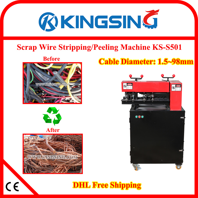 Heavy Duty Automatic Copper Wire Stripping and Recycling Machine ...