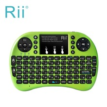 Original Rii i8+ Mini Wireless Gaming Keyboard Russian 2.4G Touchpad mouse Backlit Teclado For xBox360 Smart TV Laptop Tablet PC