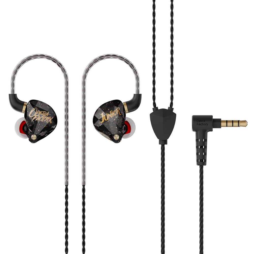 New Opera Factory OS1 5N OFC Cable In-ear Monitor 10MM Graphene Diaphragm Dynamic Earphone HIFI Bass Pop Headset Earbud Headplug