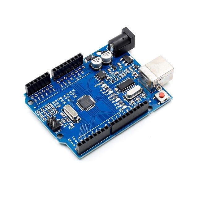 high quality One set UNO R3 CH340G+MEGA328P Chip 16Mhz For Arduino UNO R3 Development board + USB CABLE 5