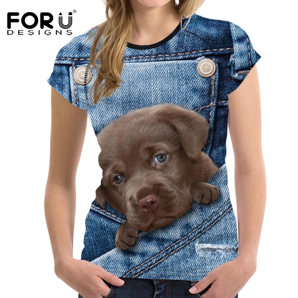 ΑΝΤΙΠΡΟΣΩΠΕΥΣΕΙΣ Denim 3D Pomeranian σκυλιών - Γυναικείος ρουχισμός - Φωτογραφία 5