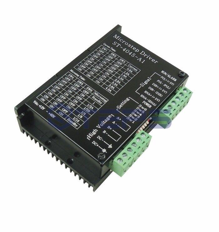 TB6600 di CNC Asse Singolo 4.5A Hybrid Driver Motore Passo A Passo Controller 12-48VDCTB6600 di CNC Asse Singolo 4.5A Hybrid Driver Motore Passo A Passo Controller 12-48VDC