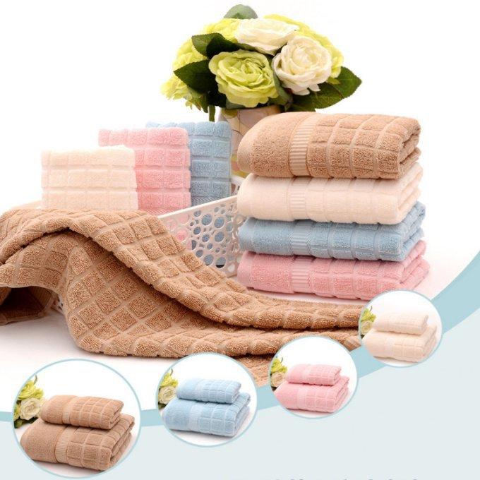 Jzgh 3pcs Decorative Cotton Bath Towels Sets For Adults Beach Bath Bathroom Towels Sets Set Of