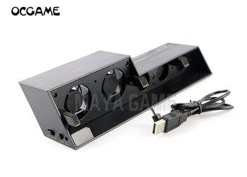Controlador Vertical OCGAME Base de soporte de estación de carga + ventilador enfriador para consola playstation 4 PS4