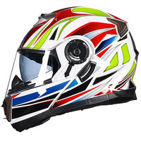 Professional Double Lens GXT Flip Up Motorcycle Helmet Removable And Washable Liner DOT ECE Approved Moto