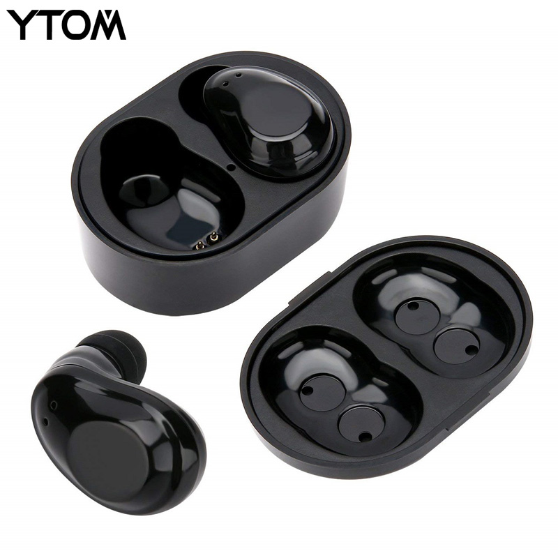 YTOM YT6 TWS True Bluetooth 5.0 Headset Wireless Headphones Earphone with Super Bass clear mic for IOS xiaomi smartphone sport
