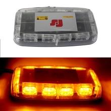 цена на 30W Emergency LED Strobe Light Car Roof Magnetic Mounted Mini LED Warning Light Bar 12V Flash Lamp