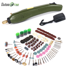 Dutoofree Mini Electric Drill Accessories Grinding Set Grinder Tool For Milling Polishing Drilling Engraving Hand